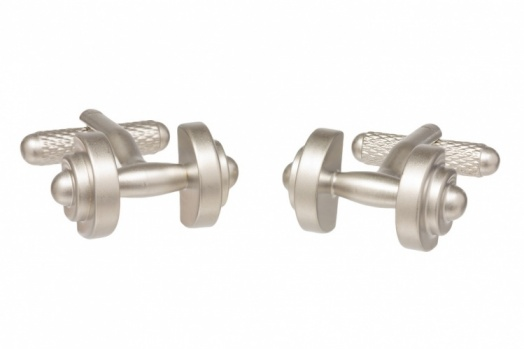 Dumbbell Cufflinks
